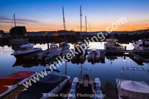Padsow Harbour at first light, Cornwall - Cornwall, Padstow, harbour, boats, dawn, sunrise,