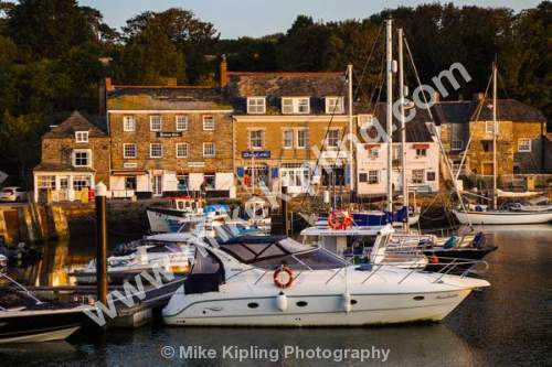 Padsow Harbour at sun rise, Cornwall - Cornwall, Padstow, harbour, boats, dawn, still, resort, sunrise, early,