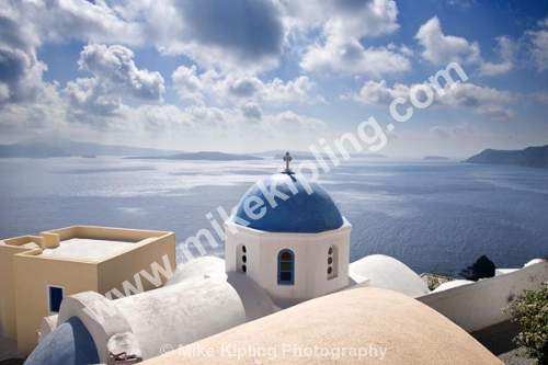 Oia, Santorini, Cyclades, Greece - Europe, Greece, Cyclades, Santorini, Oia volcanic, island, aegean, sea, holiday, island, caldera, cruise, liners, blue, church,