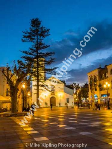 Plaza Balcon de Europe, Nerja, Costa Del Sol, Spain