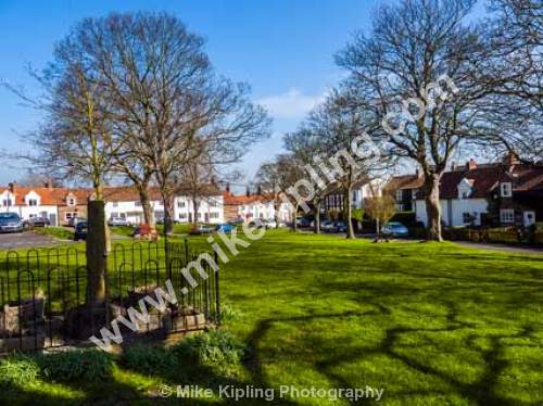 Egglescliffe Village near Yarm, Stockton on Tees - Stockton on Tees, Egglescliff, village, green,
