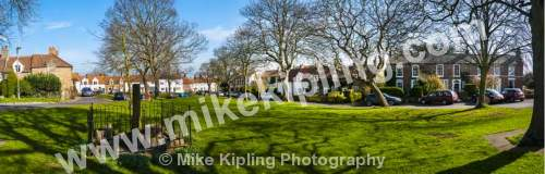 Egglescliffe Village near Yarm, Stockton on Tees - Stockton on Tees, Egglescliff, village, green, panorama,