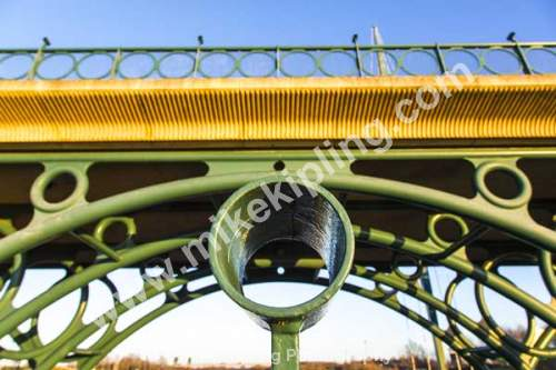 Detail Tees Barrage, Stockton on Tees - Stockton on Tees, Tees Barrage, detail, circlr, round,