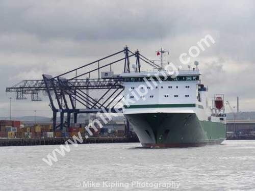 Teesport, River Tees, Cleveland - Teesport, Cleveland, Cargo, Vessel, PD Ports,