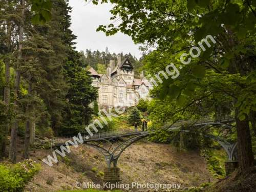 Cragside, Northumberland - Northumberland, Cragside, Armstrong, electricity, bridge,
