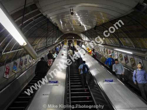 Escalator London Underground - London, Underground, Escalator,