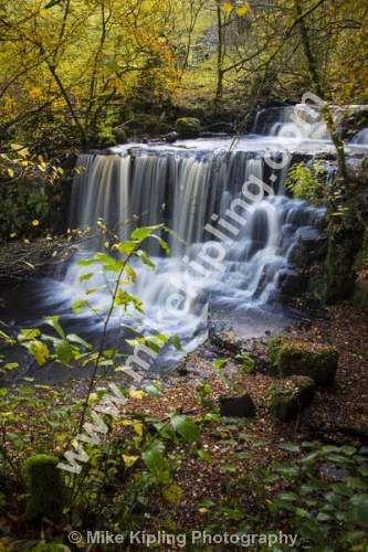Crackpot Falls, Swaledale Yorkshire Dales National Park - Yorkshire, Swaledale, Crackpot, Waterfall, Autumn, Stream,
