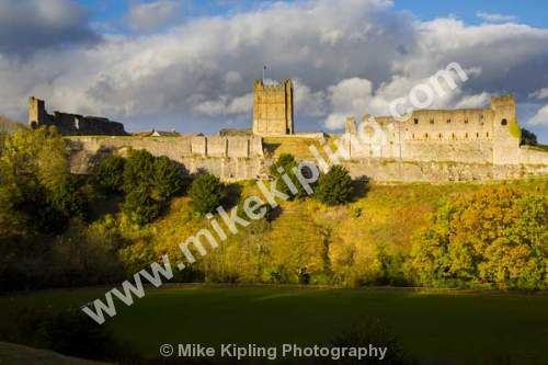 Richmond Castle, North Yorkshire - Yorkshire, Richmond, Swaledale, Castle, Norman, keep, Autumn,