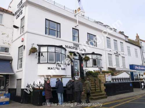 The famous Magpie Fish and Chip Restaurant, Whitby, North Yorkshire - Yorkshire, Whitby, Magpie, Cafe, Fish, Chips, Restaurant,