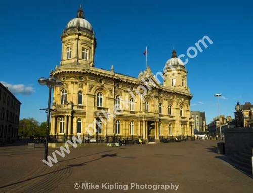 The Maritime Museum, Queen Victoria, Square, Hull, Yorkshire. Former Dock Office - Yorkshire, Hull, Maritime, Museum, Victorian, Architecture,