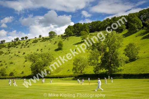 Village Cricket Match at Thixendale, Yorkshire Wolds - Yorkshire, Wolds, Thixendale, Village, Cricket, Match, Game,