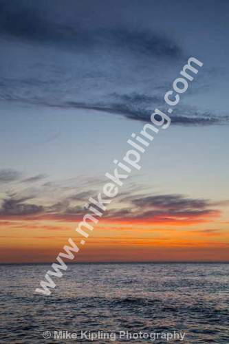 Summer Sunset over the North Sea from Staithes, North Yorkshire - Yorkshire, Staithes, Cowbar, Sunset, Sea, Coast,