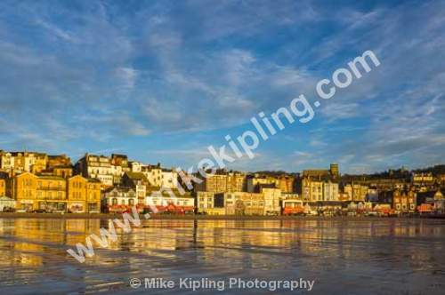 South Bay, Scarborough, North Yorkshire - Yorkshire, Scarborough, South Bay, Beach, Sand, Sea, Resort, Peaceful, November, Wet, Sand,